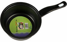 STEEL SAUCEPAN PAN COOKWARE COOKING MILK COOK SAUCEPAN PAN POT NEW 16CM X 7.5CM