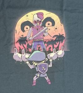 Details About Link Vs Chickens Jacket From Hotline Miami T Shirt Legend Of Zelda Moon Mask