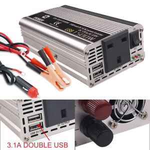 Power Inverter Converter DC 12V to 220V AC Electrical equipment Charger Adapter