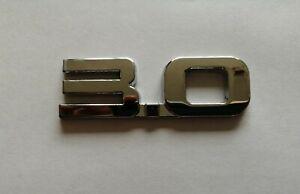 AUDI-3-0-3D-METAL-BOOT-BADGE-LOGO-EMBLEM-STICKER-GRAPHIC-DECAL-A4-A5-A6-A7-Q-S