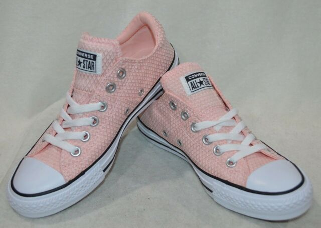 Converse Women's All Star Madison OX Vapor PinkBlackWh Sneakers Sz 7911 NWOB