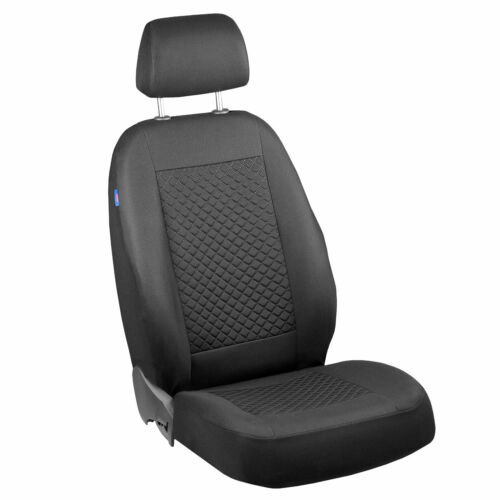 Intensamente negro pequeño patrón de cuadros para fundas para asientos nissan x trail set