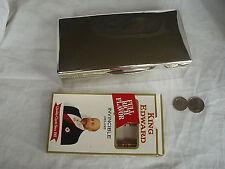 CIGARETTE / JEWEL BOX STERLING SILVER CIRCA 1920s