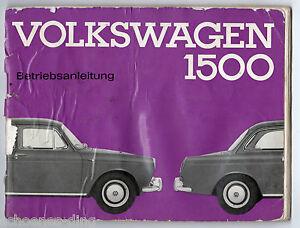 Betriebsanleitung-Volkswagen-1500-Maerz-1962