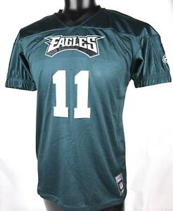 Outerstuff Carson Wentz Philadelphia Eagles #11 Green Youth Home Player Jersey