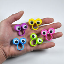 5PCS Finger Spies Eyes Oobi Finger Puppets Ring, For Children, Small Size