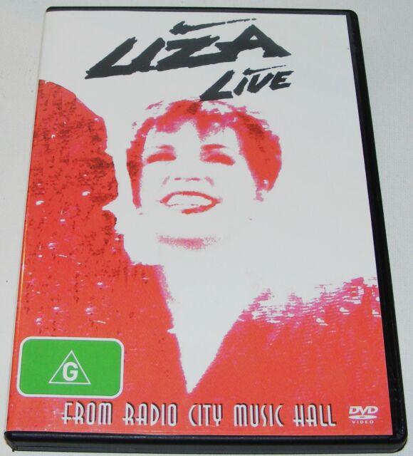 Liza Minnelli - Live From Radio City Music Hall---(DVD, 2009)