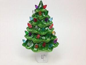 Details About Decorative Ceramic Christmas Night Light