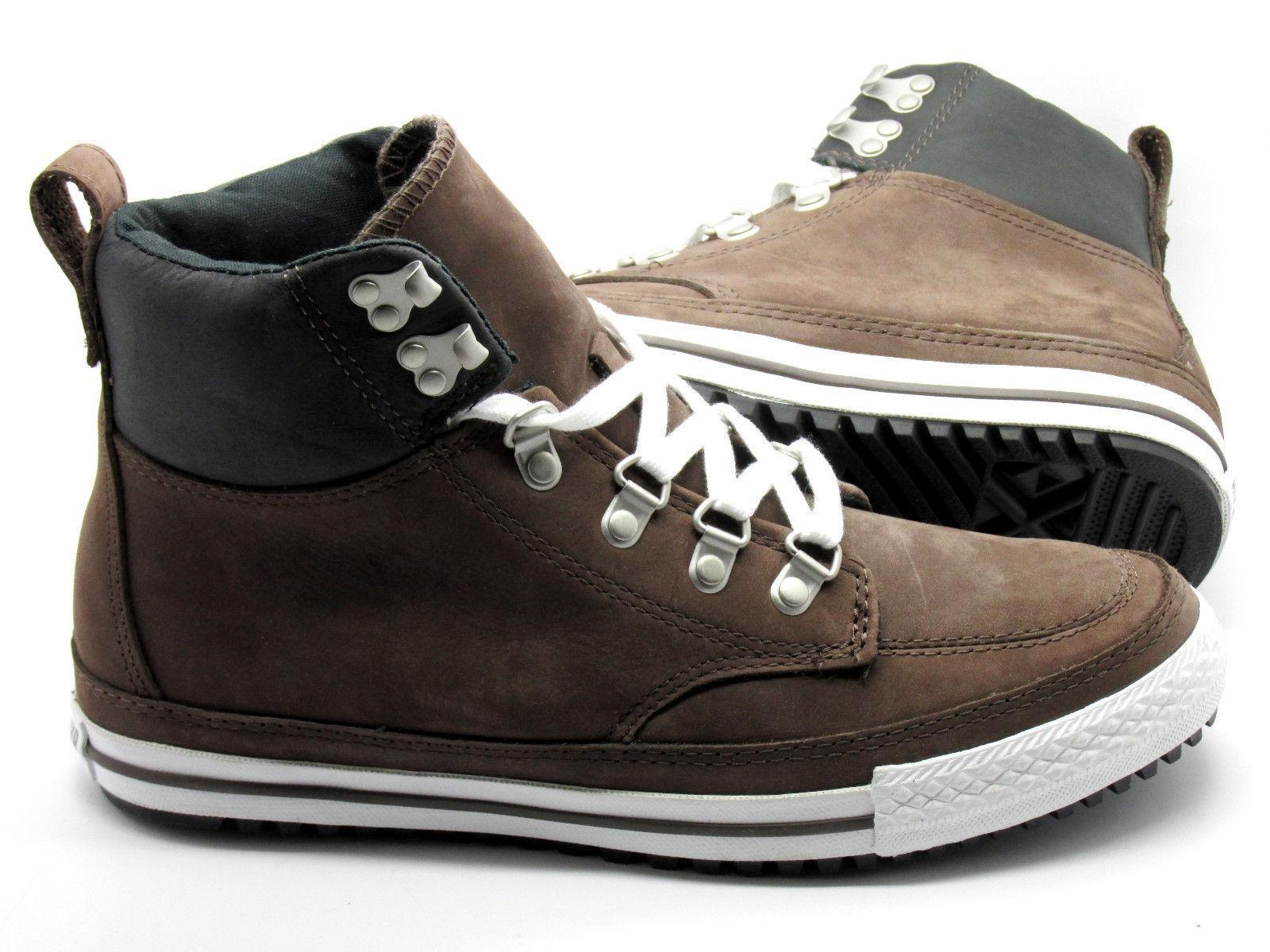 Unisex CONVERSE CT AS Trainers PC CLASSIC HI Chocolate Leder Trainers AS 130629C 3d3416