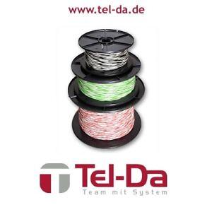 Electrical Equipment & Supplies Helpful Yv-draht 2x0,5/0,9 100m Spule Kupferdraht Schaltdraht Klingeldraht Modellbau Easy To Use