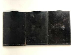 3 Planfilmkassetten Filmhalter mit Etui Film Holders with Case ca. 10 x 15 cm