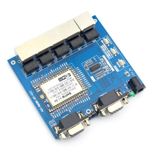 HLK-RM08K Serial Network//Wireless Two-serial Port UART WIFI Module MT7688K