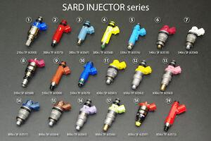 Details about GENUINE SARD INJECTOR 530cc x 6 FOR Soarer JZZ30 (1JZ-GTE  VVT-i) 63516 x 6
