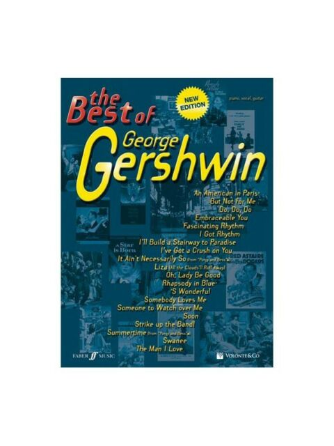 The Best of George Gershwin Learn to Play MUSIC BOOK Piano Vocal & Guitar