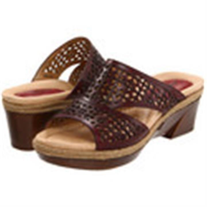NEU  Earth Schuhe Ilara Leder Sandale Damens's schuhe Größe  8