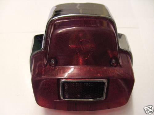 VESPA chrom RÜCKLICHT SIEM Metall GS SS 180 Rally Sprint GL PX 200 125 80 P E GT