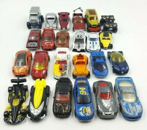 24-Hot-Wheels-Die-Cast-Large-Assorted-Car-Vehicle-Truck-Cars-Lot-H8