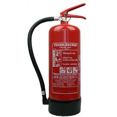 Feuerlöscher 6 Kg Abc Pulver 9 Le Mit Halterung