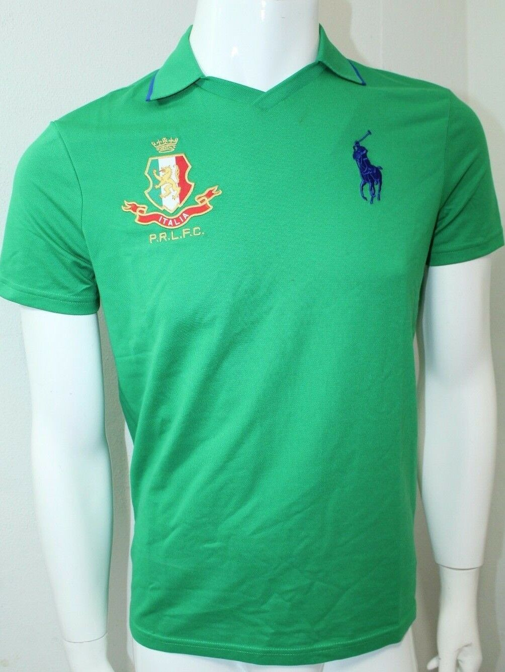 Polo By Ralph Lauren Sport Performance Jersey Athletic Polo Small Grün NWT