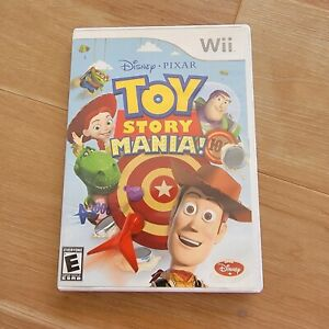 Toy Story Mania Disney Pixar Nintendo Wii Great Condition COMPLETE Free Shipping