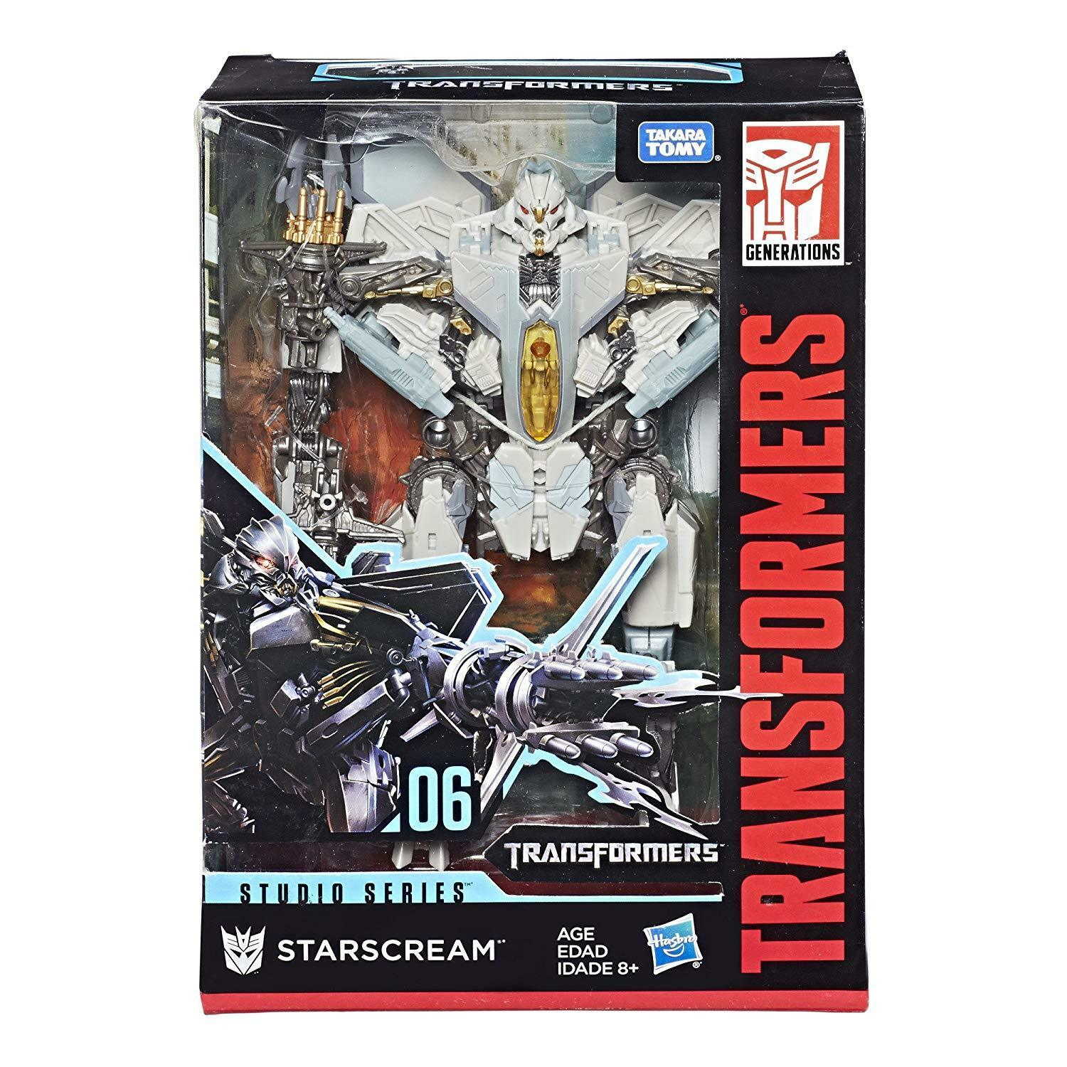 Transformers 100% Hasbro Studio Series Voyager Class 06 Starscream NEW