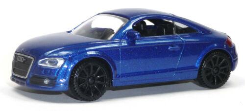2007 Audi TT Coupé Modèle de collection environ 1:43//10-11-cm bleu métallisé de Motormax