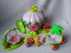 ELC HAPPYLAND Fairies House, Swing, voiture & figures Bundle, très bon état!