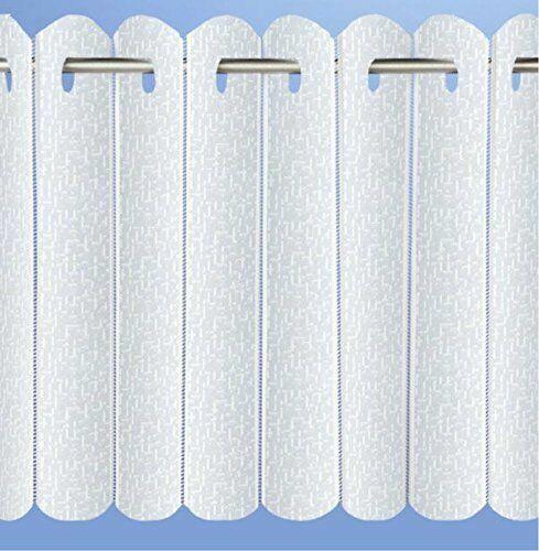 Rhodes Vertical dentelle plissé Aveugle Couleur blanche Tailles au choix Coupe Pour Taille