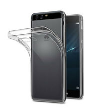 ULTRA THIN SLIM CRYSTAL CLEAR GEL CASE COVER + 2 SCREEN GUARDS - HUAWEI P10 PLUS