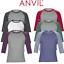 ANVIL-MEN-039-S-RAGLAN-TOP-3-4-SLEEVE-T-SHIRT-TEE-CONTRAST-COLOURS-CASUAL-XS-2XL-NEW thumbnail 6
