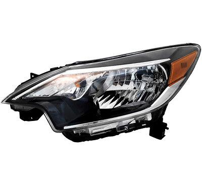 TYC NSF Left Side Headlight Lamp Assembly for Nissan Versa 2015-2016