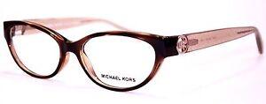 Michael-Kors-Damen-Brillenfassung-MK8017-3104-52mm-Tabitha-VII-braun-445-17-LN
