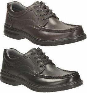 Clarks con negro y hombre cordones Keeler para Walk marrón en xYqB7tYwr