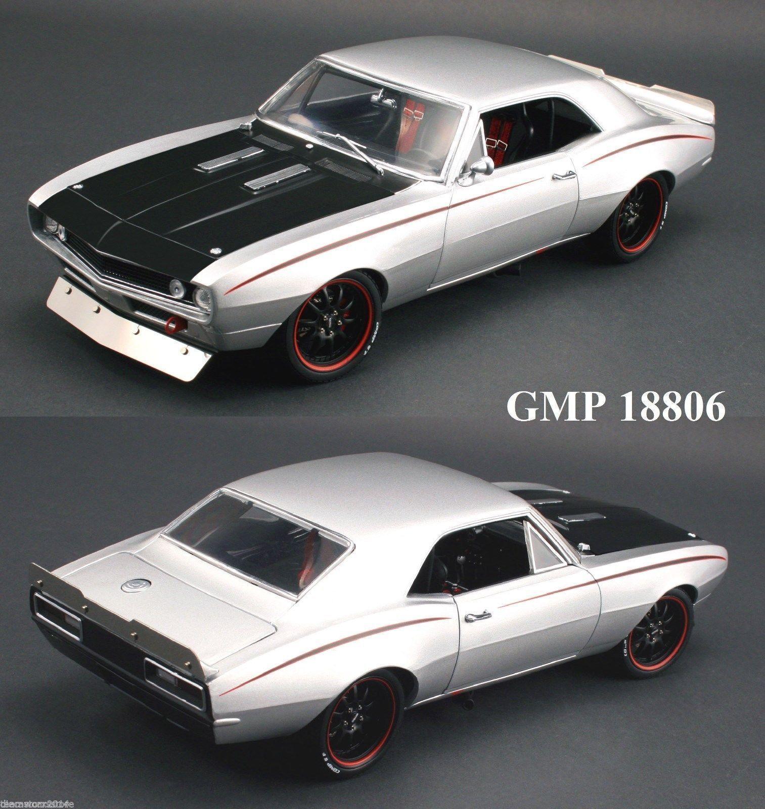 1 18 GMP  18806 -  1967 Chevrolet Street Fighter CAMARO  | Stilvoll und lustig