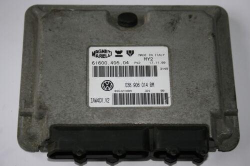 VW POLO MK5 1.4 16V AHW ENGINE CONTROL UNIT ECU 036 906 014 BM