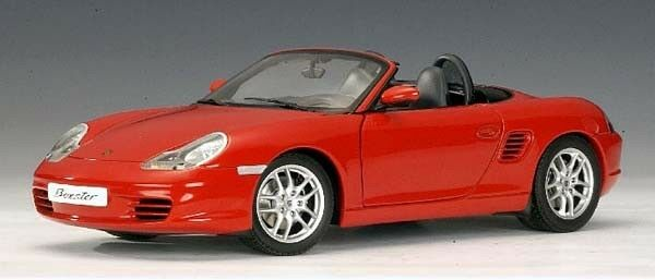 2003 PORSCHE 986 BOXSTER ROADSTER by AUTOART 1 18 INDISH RED BRAND NEW IN BOX