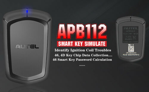 Autel APB112 Smart Key Simulator Key Chip Decoding Used With IM608 IM508 MX808IM
