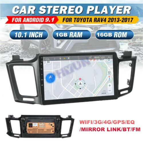 """For 13-17 Toyota RAV4 Android 9.1 Car Radio Stereo Player 10.1/"""" GPS Mirror Link"""