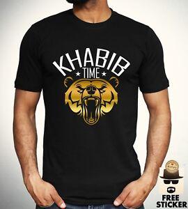 Khabib-Nurmagomedov-T-shirt-MMA-Mixed-Martial-Arts-UFC-242-Training-Top-Mens