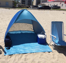 Blue Automatic Pop Up Instant Portable Beach Tent Sun Shelter Ship from US