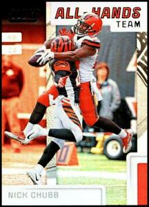 2019 Score All Hands Team NFL Football Card Singles You Pick Buy 4 Get 2 FREE