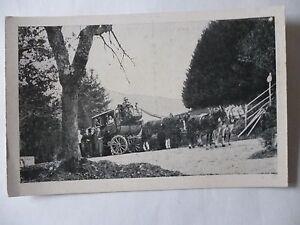 Ansichtskarte-Postkutsche-Muellheim-Kandern-Reisegelegenheit-Schwarzwald