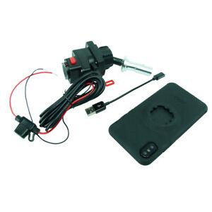 Fil Alimenté 15-17mm Vélo Tige Support & Tigra Mountcase Pour Iphone 6 Plus