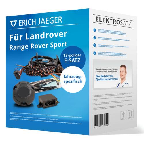 spez für Landrover Range Rover Sport LS 02.2005-08.2009 EBA Elektrosatz 13-pol