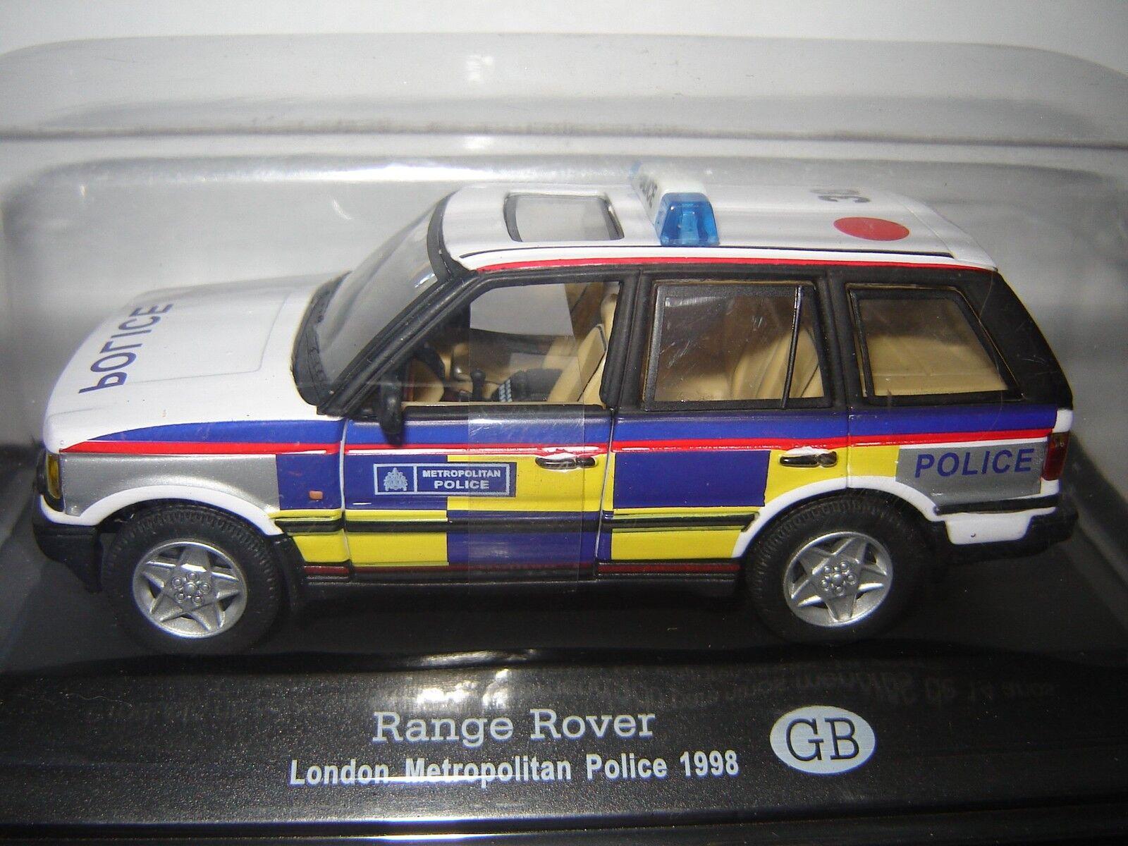 RANGE ROVER LONDON METROPOLITAN POLICE to the   of 1 43°
