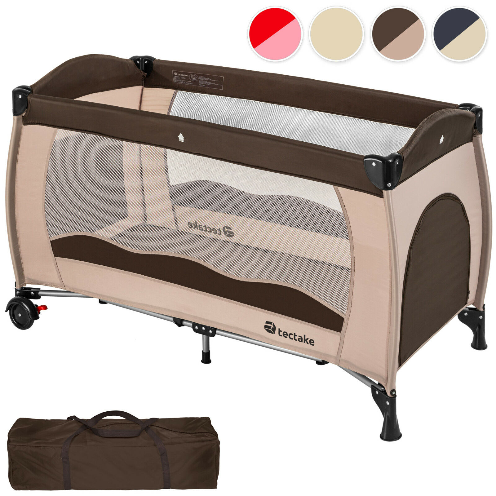 Play Portable Baby Sleep Tight Travel Cot Bed /& Mattress Playpen Child Rest Bag