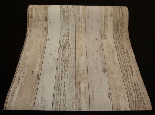 """02361-20 - moderne nappes papier peint en Finition Bois Shabby Chic /""""Simplement Belle/"""""""