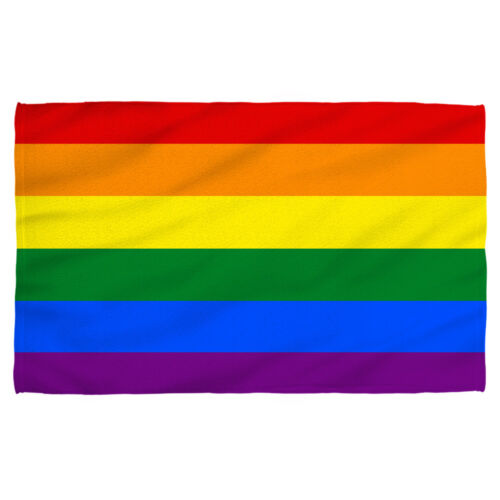 Gay PRIDE FLAG LGBT Lightweight Beach Towel