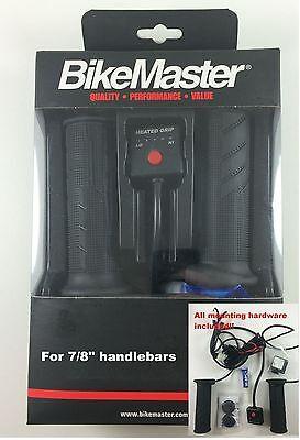 "BikeMaster Heated Grips Fits 7/8"" Handlebars Ducati Aprilia Buell"