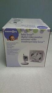 Babies-034-R-034-Us-Wireless-Digital-Monitor-amp-Camera-Baby-Focus-Video-Monitor
